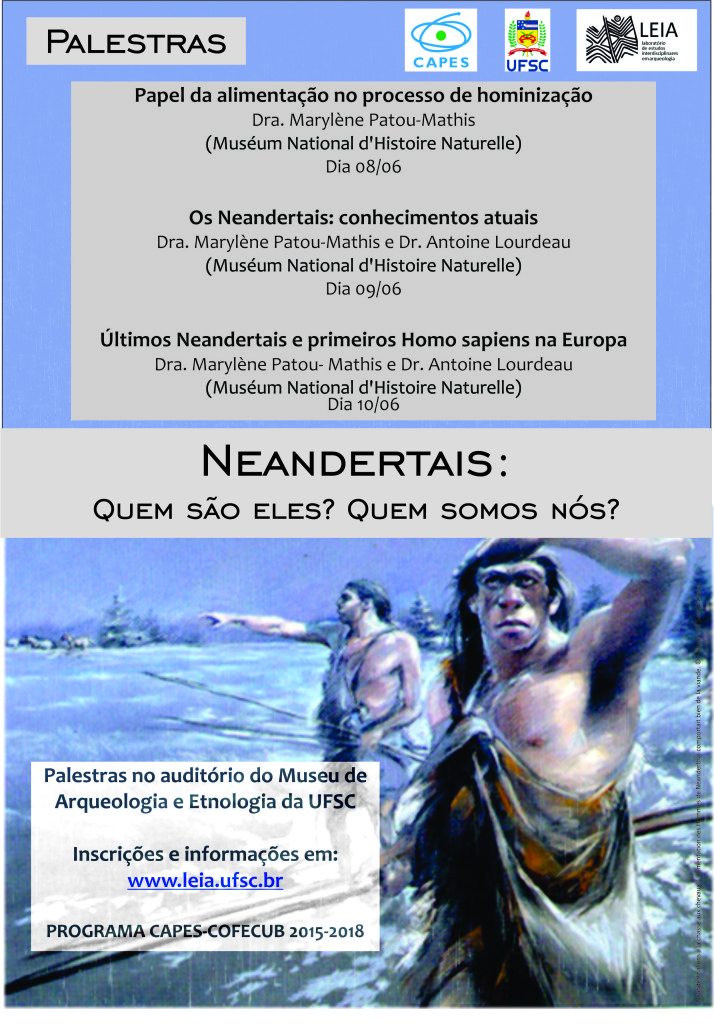 cartaz neandertais